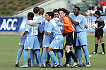 13 November 2005: . Duke University defeated the University of North Carolina 5-4 in penalty kicks following a 0-0 draw at SAS Stadium in Cary, North Carolina in the final of the 2005 ACC Men's Soccer Championship.