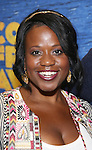 Q. Smith attends the press day for Broadway's 'Come From Away' at Manhattan Movement and Arts Center on February 7, 2017 in New York City.