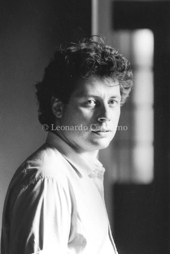 Alessandro Baricco, italian writer. © Leonardo Cendamo