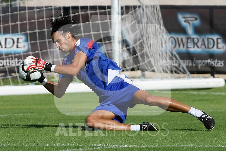 Getafe's Jordi Codina during training sesion.August 6 2009. (ALTERPHOTOS/Acero).