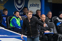 Wycombe Wanderers Manager Gareth Ainsworth gives a thumb up during the Sky Bet League 2 match between Portsmouth and Wycombe Wanderers at Fratton Park, Portsmouth, England on 23 April 2016. Photo by Andy Rowland.