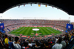 FC Barcelona's supporters and Sevilla CF's supporters during Spanish Kings Cup Final match. May 22,2016. (ALTERPHOTOS/Acero)