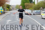 Maurice Kelter crosses the finish line of his 66k Ultra Marathon fundraiser for Recovery Haven in memory of his mom, the late Ann Kelter in Tralee on Sunday last.