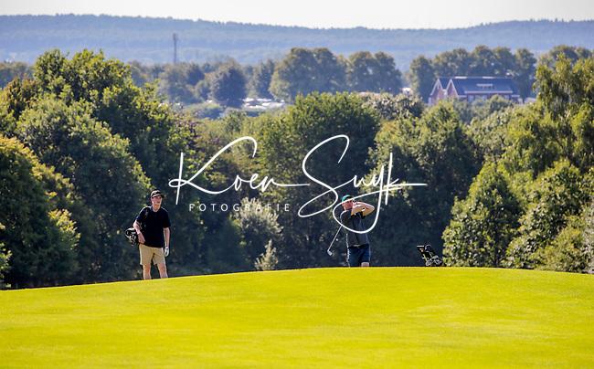 GROESBEEK  - hole Zuid 9 met Duitsland op de achtergrond.  ,  Golf op Rijk van Nijmegen.   COPYRIGHT KOEN SUYK