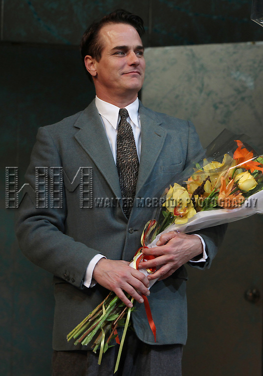 Paul Gross.during the Opening Night Performance Curtain Call for 'Private Lives' at the Music Box Theatre in New York City on 11/17/2011.