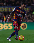30.12.2015 Barcelona. La Liga , day 17. Picture show Dani Alves in action during game between FC Barcelona against Betis at Camp Nou