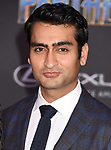 HOLLYWOOD, CA - JANUARY 29: Actor Kumail Nanjiani attends the premiere of Disney and Marvel's 'Black Panther' at  the Dolby Theater on January 28, 2018 in Hollywood, California.