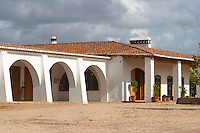 Winery and restaurant building. Herdade da Malhadinha Nova, Alentejo, Portugal