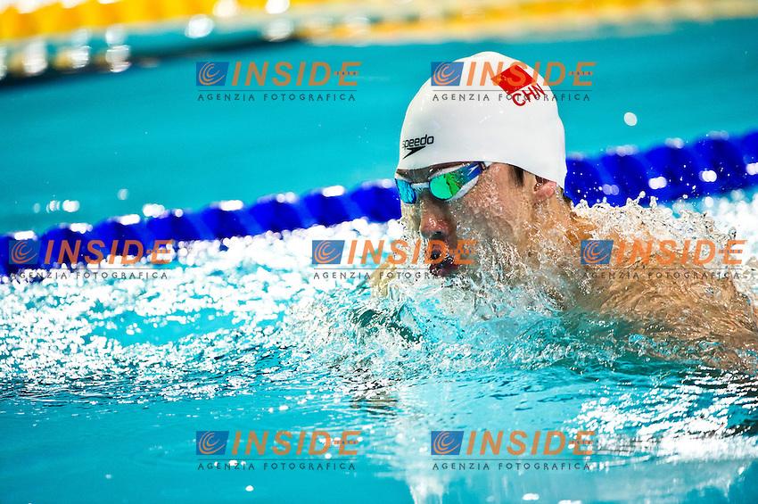 HUANG Yunkun CHN.Men's 100m Breaststroke.FINA World Short Course Swimming Championships.Istanbul Turkey 12 - 16 Dec. 2012.Day 01.Photo G.Scala/Deepbluemedia/Inside