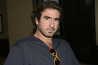 Sept 1,  2003, Montreal, Quebec, Canada<br /> <br /> Eric Cantona, actor - L'OUTREMANGEUR (THE OVEREATER)   during the Montreal World Film Festival, Sept 1 2003<br /> <br /> The Festival runs from August 27th to september 7th, 2003