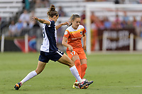 Houston, TX - Saturday July 15, 2017: Havana Solaun and Andressa Cavalari Machry during a regular season National Women's Soccer League (NWSL) match between the Houston Dash and the Washington Spirit at BBVA Compass Stadium.