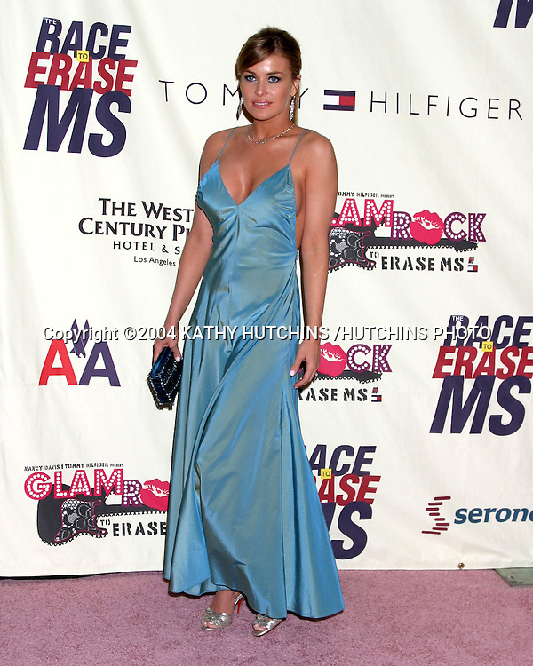 ©2004 KATHY HUTCHINS /HUTCHINS PHOTO.RACE TO ERASE MS BENEFIT GALA.CENTURY CITY, CA.MAY 14, 2004..CARMEN ELECTRA