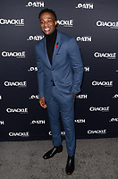 "LOS ANGELES - FEB 7:  Arlen Escarpeta at the ""The Oath"" Red Carpet Premiere Event at the Sony Studios on February 7, 2018 in Culver City, CA"
