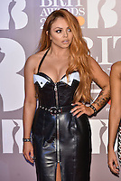 Little Mix, Jesy Nelson<br /> The Brit Awards at the o2 Arena, Greenwich, London, England on February 22, 2017.<br /> CAP/PL<br /> &copy;Phil Loftus/Capital Pictures /MediaPunch ***NORTH AND SOUTH AMERICAS ONLY***