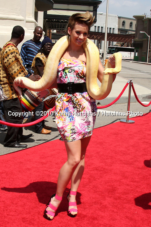 "Stephanie Wyatt.aarrives at the ""Unnatural History"" Cartoon Network Premiere.Stephen J. Ross Theater, Warner Brothers Lot.Burbank, CA.June 12, 2010.©2010 Kathy Hutchins / Hutchins Photo.."