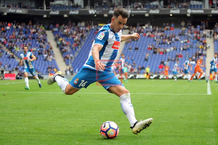 League Santander 2016/2017. Game: 9.<br /> RCD Espanyol vs SD Eibar: 3-3.<br /> Jurado.