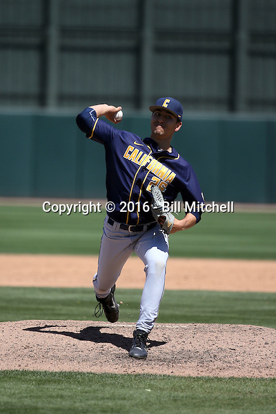 Jeff Bain - 2016 California Golden Bears (Bill Mitchell)