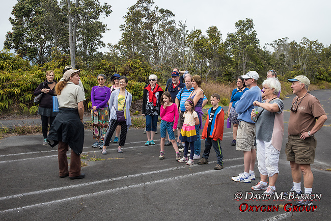 Park Educational Guide Leading Nature Tour