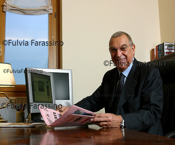 Franco Tatò.Milano 27/11/2002