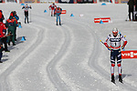 Cross Country Ski World Cup 2018 FIS in Dobbiaco, Toblach, on December 17, 2017; Men 15 km Pursuit Classic; Simen Hegstad Krueger