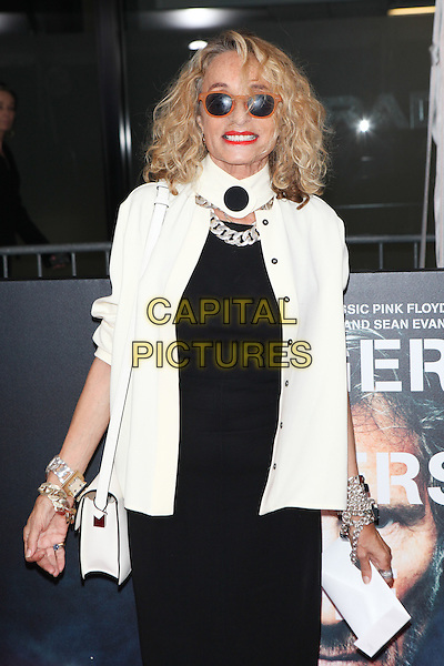 NEW YORK, NY - SEPTEMBER 28: Ann Dexter-Jones at the premiere of Roger Waters The Wall at The Ziegfeld Theater in New York City on September 28, 2015. <br /> CAP/MPI/COR<br /> &copy;COR/MPI/Capital Pictures