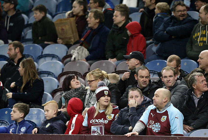 Empty seats at Turf Moor as Burnley head to a damaging 1-5 home defeat<br /> <br /> Photographer Rich Linley/CameraSport<br /> <br /> The Premier League - Burnley v Everton - Wednesday 26th December 2018 - Turf Moor - Burnley<br /> <br /> World Copyright © 2018 CameraSport. All rights reserved. 43 Linden Ave. Countesthorpe. Leicester. England. LE8 5PG - Tel: +44 (0) 116 277 4147 - admin@camerasport.com - www.camerasport.com