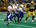 FARGO, ND - NOVEMBER 22th, 2008 : Ryan Crawford, South Dakota State's second string quarterback, came in for the injured Ryan Berry in the first half during their game Saturday evening at the Fargodome on the campus of North Dakota State University in Fargo, ND. (Photo By Ty Carlson/Inertia)