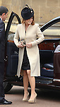 """PRINCESS EUGENIE.attends Easter Service at St George's Chapel, Windsor_April8, 2012.Mandatory credit photo: ©NEWSPIX INTERNATIONAL..(Failure to credit will incur a surcharge of 100% of reproduction fees)..                **ALL FEES PAYABLE TO: """"NEWSPIX INTERNATIONAL""""**..IMMEDIATE CONFIRMATION OF USAGE REQUIRED:.Newspix International, 31 Chinnery Hill, Bishop's Stortford, ENGLAND CM23 3PS.Tel:+441279 324672  ; Fax: +441279656877.Mobile:  07775681153.e-mail: info@newspixinternational.co.uk"""