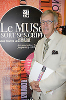 Montreal (qc) CANADA - august 24 2010 - The Museum of Costume and Textile of Qu&Egrave;bec is invading the corridors of the Montreal Eaton Centre, putting on display more than 35 creations by Quebec couturiers who have had an impact on the fashion world of yesterday and today. <br /> Pierre G Belanger. President Mus&Egrave;e du Costume et du Textile