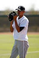 Santos Rodriguez - Chicago White Sox 2009 Instructional League. .Photo by:  Bill Mitchell/Four Seam Images..