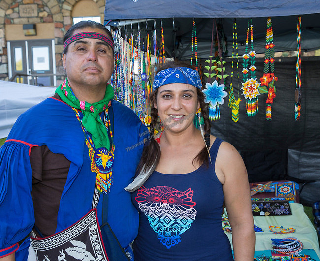Werika Tatsiu and Esmeralda Henry during the Stewart Father's Day Pow Wow in Carson City on Friday, June 16, 2017.