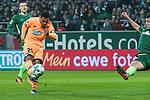 13.01.2018, Weser Stadion, Bremen, GER, 1.FBL, Werder Bremen vs TSG 1899 Hoffenheim, im Bild<br /> Serge Gnabry (1899 Hoffenheim #29)<br /> <br /> <br /> Foto &copy; nordphoto / Kokenge