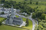 An aerial photo of St. Mary's Cathedral, Killarney and surround schools including St. Brendan's College, Killarney Community School, Presentation Convents, Bishop's Palace.<br /> Photo Don MacMonagle