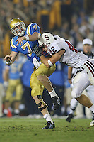 1 October 2006: Will Powers during Stanford's 31-0 loss to UCLA at the Rose Bowl in Pasadena, CA.