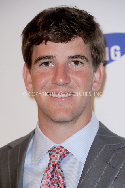 WWW.ACEPIXS.COM . . . . . .June 7, 2011...New York City.....Eli Manning attends the Samsung Hope for Children Gala at Cipriani Wall Street on June 7, 2011 in New York City.......Please byline: KRISTIN CALLAHAN - ACEPIXS.COM.. . . . . . ..Ace Pictures, Inc: ..tel: (212) 243 8787 or (646) 769 0430..e-mail: info@acepixs.com..web: http://www.acepixs.com .