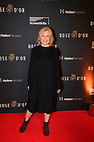 Picture by Simon Wilkinson/SWpix.com 01/122019 -  Rose d'Or 2019 Award Ceremony, red carpet arrivals and winners. Kings Place, London<br /> - Maren Kroymann
