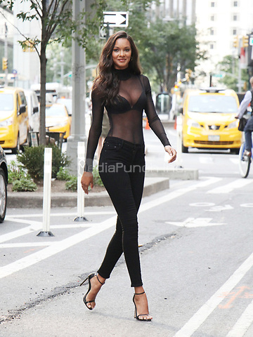 NEW YORK, NY August 28, 2017 Lais Ribeiro at Victoria Secret Fitting at Victoria Secret Office in New York August 28 2017.Credit:RW/MediaPunch
