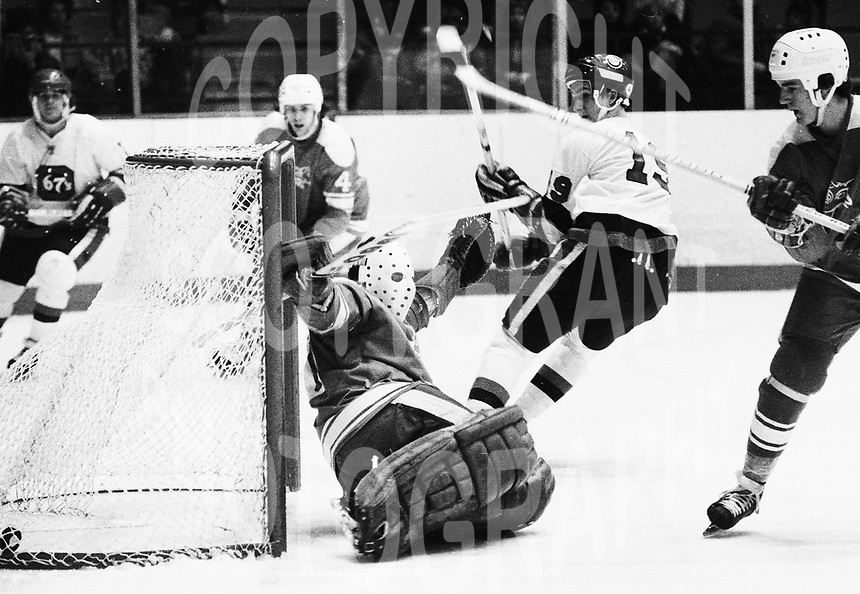 Steve Payne Ottawa 67's 1979. Photo Scott Grant