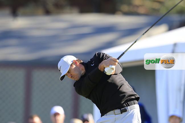 Brooks Koepka (USA) tees off the 1st tee during Friday's Round 2 of the 2017 Farmers Insurance Open held at Torrey Pines Golf Course, La Jolla, San Diego, California, USA.<br /> 27th January 2017.<br /> Picture: Eoin Clarke | Golffile<br /> <br /> <br /> All photos usage must carry mandatory copyright credit (&copy; Golffile | Eoin Clarke)