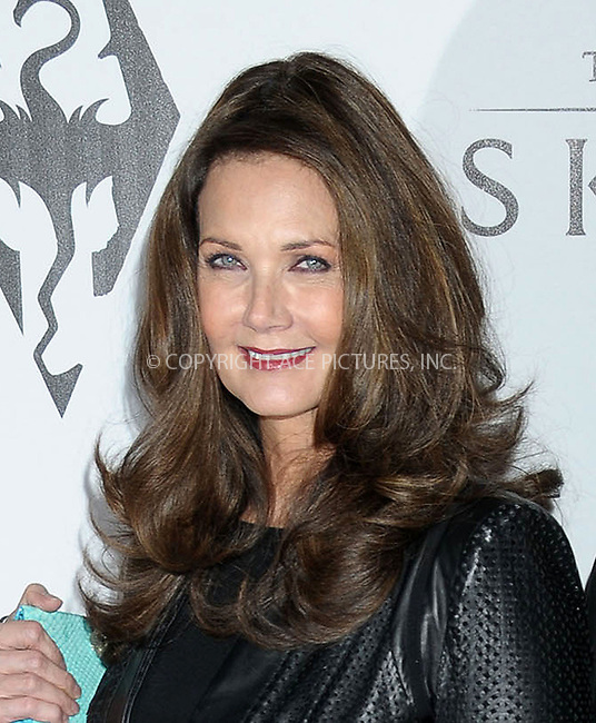 WWW.ACEPIXS.COM . . . . .  ..... . . . . US SALES ONLY . . . . .....November 8 2011, LA....Lynda Carter arriving at the Skyrim video game launch held at the Belasco Theater on November 8 2011 in Los Angeles....Please byline: FAMOUS-ACE PICTURES... . . . .  ....Ace Pictures, Inc:  ..Tel: (212) 243-8787..e-mail: info@acepixs.com..web: http://www.acepixs.com