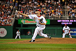 11 July 2008: Washington Nationals' pitcher Steven Shell on the mound against the Houston Astros at Nationals Park in Washington, DC. The Nationals shut out the Astros 10-0 in the first game of their 3-game series...Mandatory Photo Credit: Ed Wolfstein Photo