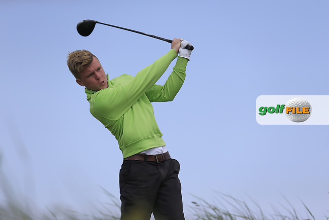 Mathew Kane (Larne) during the 1st round of the East of Ireland championship, Co Louth Golf Club, Baltray, Co Louth, Ireland. 02/06/2017<br /> Picture: Golffile | Fran Caffrey<br /> <br /> <br /> All photo usage must carry mandatory copyright credit (&copy; Golffile | Fran Caffrey)