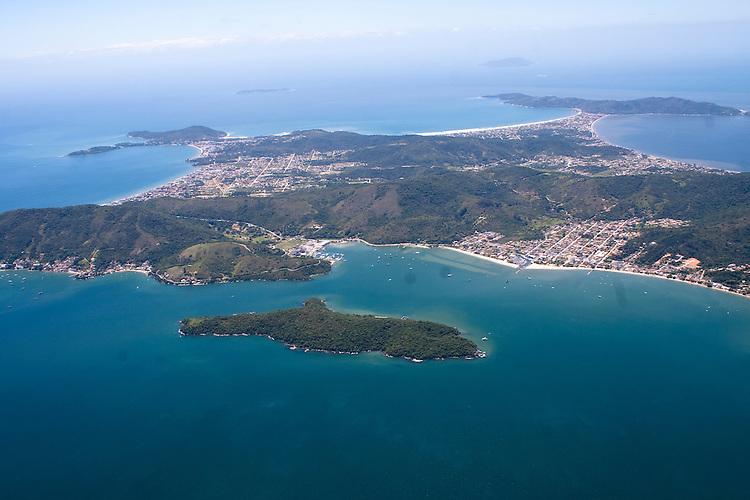 Vista aérea da praia de Porto Belo, Santa Catarina, Brasil Porto Belo, Santa Catarina, Brasil