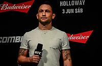 RIO DE JANEIRO, RJ, 02.06.2017 – UFC-RJ – Frankie Edgar durante pesagem para o UFC 212 na Arena Jeunesse, na zona oeste da cidade do Rio de Janeiro, na noite desta sexta-feira (02).(Foto: Jayson Braga / Brazil Photo Press)