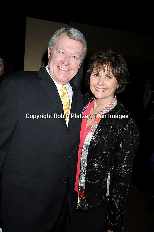 actor Jerry verDorn and Courtney Simon, writer for As The World Turns and was an actress on As The World Turns..attending The 61st Annual Writer's Guild Awards on February 7, 2009 at The Hudson Theatre at The Millennium Broadway Hotel in New York City.....Robin Platzer, Twin Images