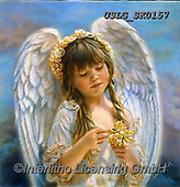 CHILDREN, KINDER, NIÑOS, paintings+++++,USLGSK0157,#K#, EVERYDAY ,Sandra Kock, victorian ,angels