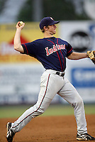 Jared Goedert / Kinston Indians..Photo by:  Bill Mitchell/Four Seam Images