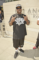 LOS ANGELES, CA - JULY 08: Rapper Daz Dillinger attends the UNITY Protest Mach at the Los Angeles Police Department in Downtown Los Angeles on July 8, 2016 in Los Angeles, California. Credits: Koi Sojer/Snap'N U Photos/MediaPunch
