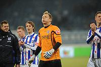 VOETBAL: SC HEERENVEEN: Abe Lenstra Stadion, 17-02-2012, SC-Heerenveen-NAC, Eredivisie, Eindstand 1-0, Brian Vandenbussche, ©foto: Martin de Jong.