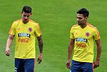 Entrenamiento de la Selección Colombia previo al Mundial de Rusia 2018. Despedida en Bogotá.